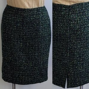 Liz Claiborne Tweed Pencil Skirt